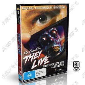 They Live DVD : John Carpenter : New & Sealed : Very Rare