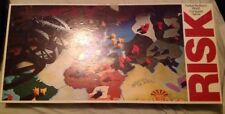 Risk World Conquest Parker Brothers Board Game Vintage 1975 Includes Manual