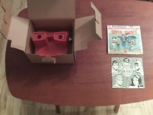 1979 View-Master and Super Heroes 3D Pictures Never Used