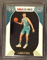 2020-21 Panini NBA Hoops WINTER SP Lamelo Ball Rookie #223 Charlotte Hornets RC