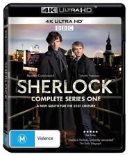 SHERLOCK 1 2010: BENEDICT CUMBERBATCH Holmes NEW BBC TV Series Au 4K UHD BLU-RAY