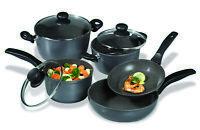 Stoneline Black Cookware Set 8 Pieces