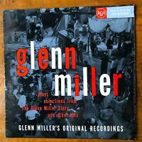 GLENN MILLER ORCHESTRA - STORY / HITS  EX-/EX VINYL LP - MONO