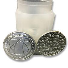 1 oz Pure Silver International Trade Bullion Coin (BU) - 20 troy oz Total .999
