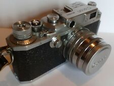 Appareil photo ancien CANON lllA, objectif SERENAR  f:1,8  50 mm