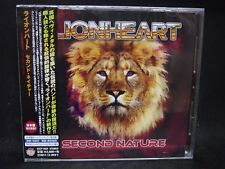 Lionheart Second Nature + 1 Japan Cd Iron Maiden Praying Mantis Shy British Hard