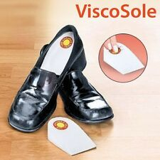 ViscoSole Memoryschaum Fersenpolster Einlagen Schuheinlagen Fersenschutz 1 Paar