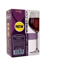 YOUNGS WINEBUDDY STRAWBERRY WINE KIT 6 BOTTLE (7 DAY KIT)  BUY 1 GET 10% OFF 2ND