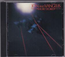 Jon And Vangelis - Short Stories - CD (Polydor U.S.A. 800 027-2)
