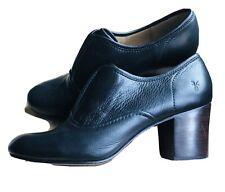 New Frye leather black women shootie ankle bootie sz 10 M