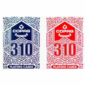 Copag 310 Playing Cards Double Deck - Red & Blue