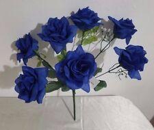 Royal Blue Open Rose Flower Bush
