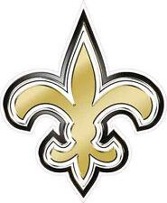 saints gold fleur de lis vehicle decal sticker