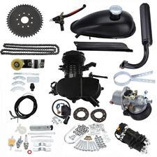 Black Engine Kit + Chain Tensioner Fits 2 Stroke 80cc Gas Motorized Push Bike