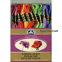DMC Floss Variegated 36 Skeins 6 Strand Embroidery Thread Collector's Edition