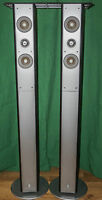 Yamaha NS-225F 2-Way Bass-Reflex Tower Speakers (PAIR)