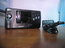 Sega Nomad Handheld Game System tested with home power supply good shape