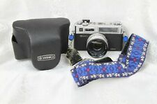 Vingage Yashica Electro 35 GSN Camera with Case & Strap 966130
