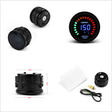DC12V 2'' 52mm Round Autos 2in1 Digital/Analog LED Water Temp Temperature Gauge
