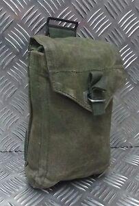 Genuine Vintage M39 Swedish Military Green Webbing Side Utility / Ammo Pouch G1