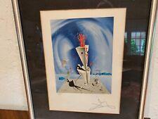 Salvador Dali pencil signed Ltd edt 277/300 original lithograph Apparatus & Hand