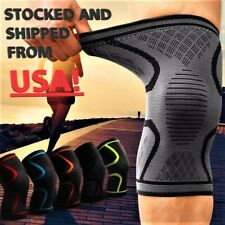 1x 2x Compression Knee Sleeve Brace/Running/Arthritis/Joint Support/Choose S-4XL