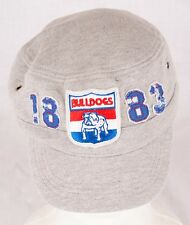 First 18 Official AFL Western Bulldogs Retro VFL Military Cap