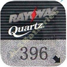 10 Rayovac 396 Quartz Watch Batteries SR726SW SR59 D396
