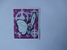Autocollant Stickers POKEMON Collection MERLIN N°157 PAPILUSION !!!