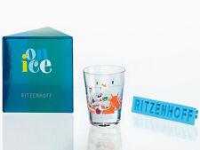 Ritzenhoff Whiskyglas Harddrinkgglas Trinkglas Glas On Ice Sibylle Welz 09 NEU