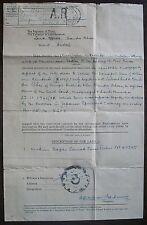 Malaya Parit Buntar AR hs #AR2 10 years ealier than recorded + document