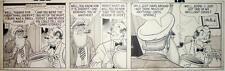 Micky Finn, Lank Leonard, Original Drawing Comic Cartoon