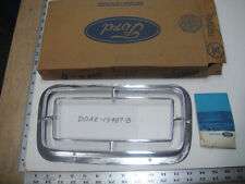 1970 Ford LTD Galaxie 500 XL Taillight Chrome Door Trim Bezel NOS 1