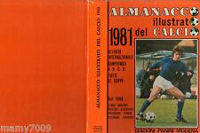 ALMANACCO ILLUSTRATO DEL CALCIO 1981=PANINI MODENA=ANTOGNONI COVER