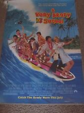 """A Very Brady Sequel 27"""" x 40"""" Double Sided Movie Theater Teaser Poster~1996"""