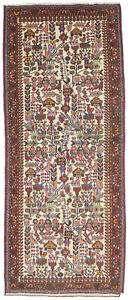 Vintage Tribal Pictorial Design 2'7X6'6 Farmhouse Decor Oriental Rug Wool Carpet