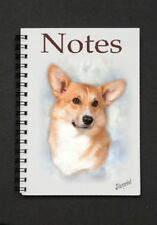 Pembroke Corgi Notebook/Notepad with a small image on every page - by Starprint