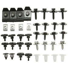40 pcs Car Engine Undertray Cover Bottom Shield Guard Clip Screws Kit For Toyota