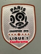 Patch Football Ligue 1 CHAMPION DE FRANCE 2018 Paris Saint Germain Psg Neymar