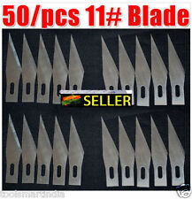 Blades (For 11 # scalpel Use) Carving 50/pcs  surgical knives.. 1 pc handle free