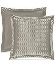 New listing J Queen New York Satinique Quilted Euro Pillow Sham Silver $70