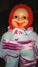 Handmade Clown Rubber Face Hands Feet Scary Circus Collectible Doll
