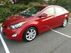 2012 Hyundai Elantra Limited ORIGINAL OWNER, PRIVATE SELLER, LOW MILES, TECH PACKAGE