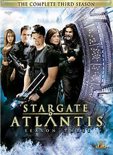STARGATE ATLANTIS THIRD SEASON 3=BOXSET=TV SERIES = NEW DVD R4 = FREE POST