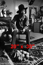 "Jimi Hendrix~Casual~Poster~20"" x 30"" Photo"