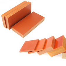 1pcs Bakelite Phenolic Flat Plate Sheet 100 mm x 100mm x 5mm Orange For CNC