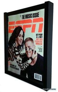 Magazine Display Frame Case Black Shadow Box ESPN Rolling Stone A
