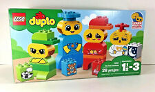 NEW Lego DUPLO BLOCKS My First Emotions 28 Pcs Preschool Building Family People