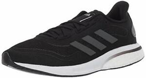 adidas Women's Supernova Running Shoe, Black/Grey/Silver, Size  iLiE