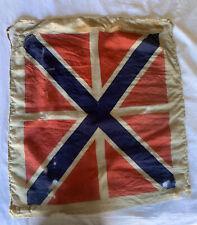 Vintage Or Possibly Antique Russian Navy Jack Flag
